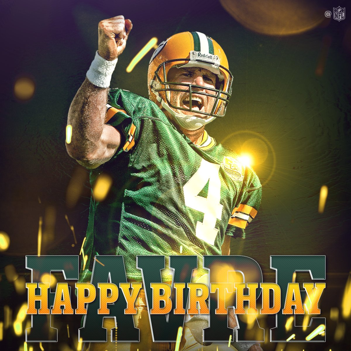 HAPPY BIRTHDAY, @Favre4Official! ������ https://t.co/jD4dHbrZuS
