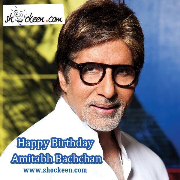 Happy Birthday Amitabh Bachchan: As Big B turns 75