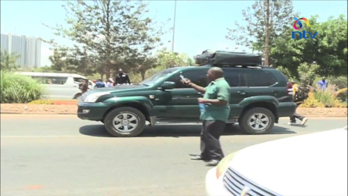 Protester run over by motorist treated at Kenyatta National Hospital