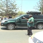 Protester run over by motorist treated at Kenyatta National Hospital
