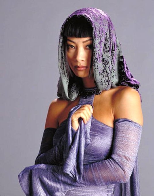 Happy Birthday Bai Ling Thank you for being Bana Breemu in Star Wars Episode 3.