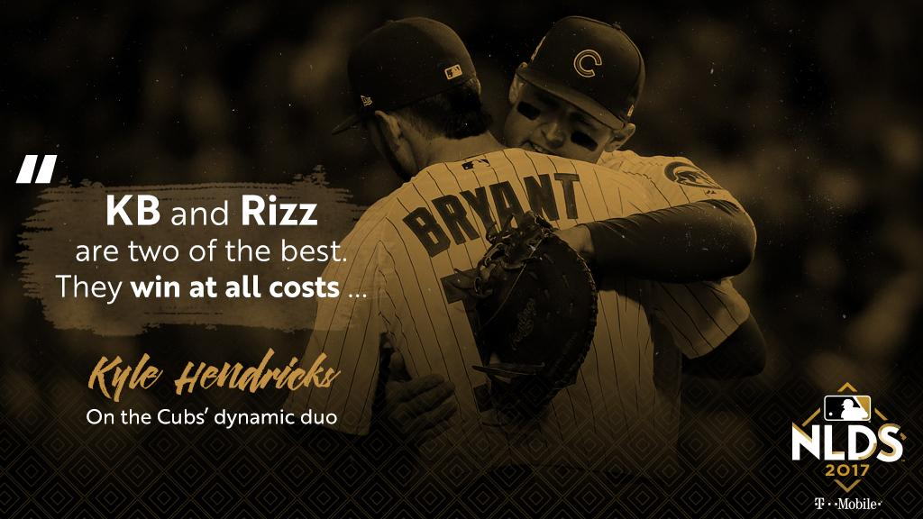 Will #Bryzzo lead the @Cubs back to the #NLCS? https://t.co/HiYpozQXhq https://t.co/ziXtgDEJMQ