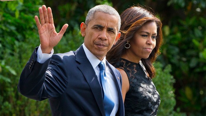 "Barack and Michelle Obama ""disgusted"" by allegations against Harvey Weinstein"