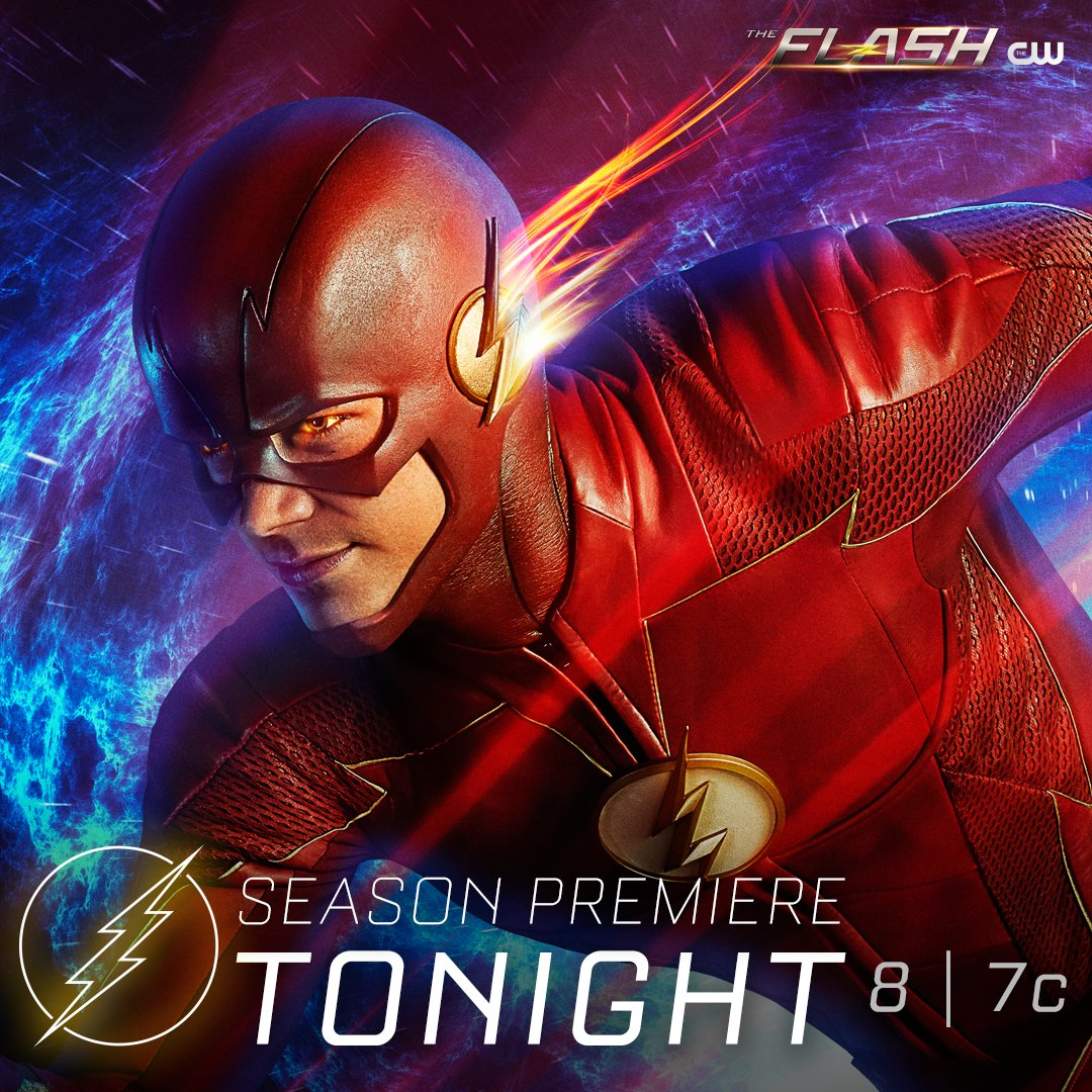 Ready, set, GO! #TheFlash premieres in ONE HOUR on The CW.