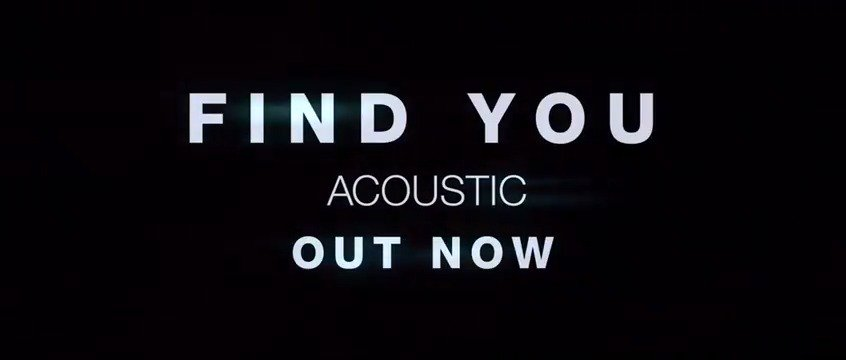 #FindYouAcoustic https://t.co/Af9j7gxLii https://t.co/uHFmXCrEdy