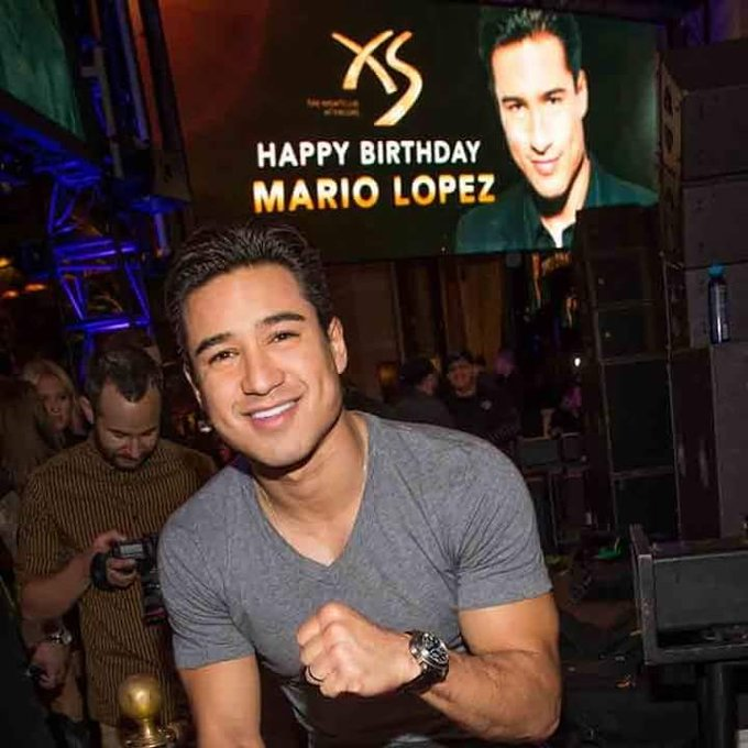 Happy bday mario Lopez 10.10.17