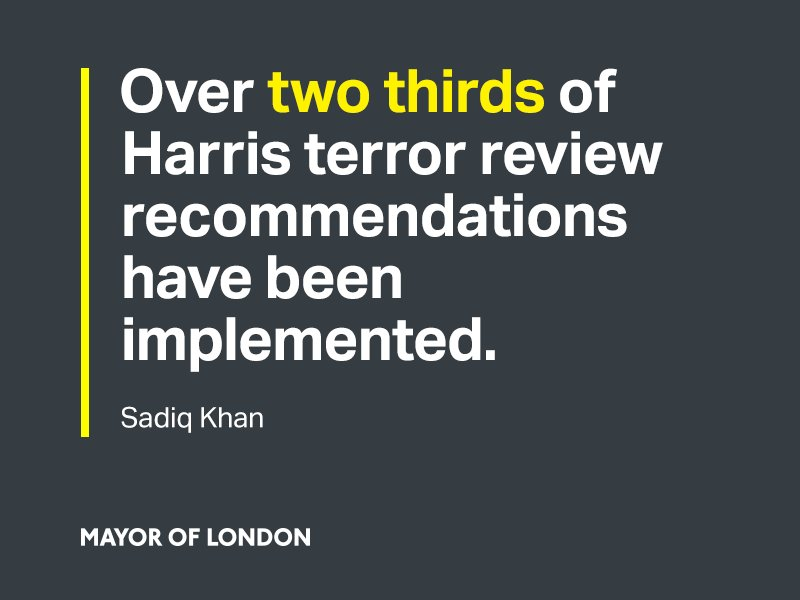 I'm doing all I can to ensure that London is as prepared as possible to respond to terrorism https://t.co/7k60veMWIq https://t.co/pGlLu3JNiQ