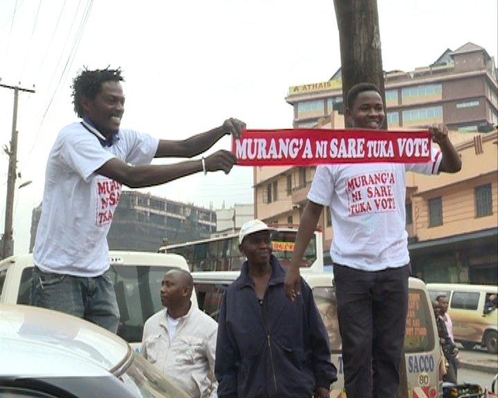 Governor Wa Iria facilitates transport for Murang'a voters