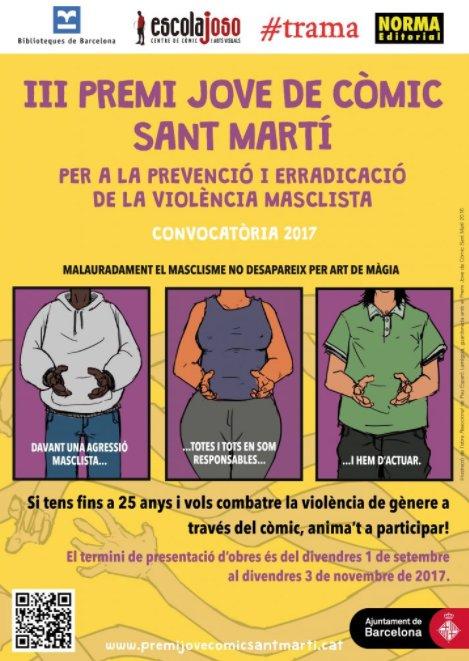 provar Twitter Mitjans - Sant Martí organitza el III Premi jove del còmic per a la prevenció i erradicació de la violència masclista https://t.co/OsQxPpgha1 @abd_ong https://t.co/7qysKKWn6g