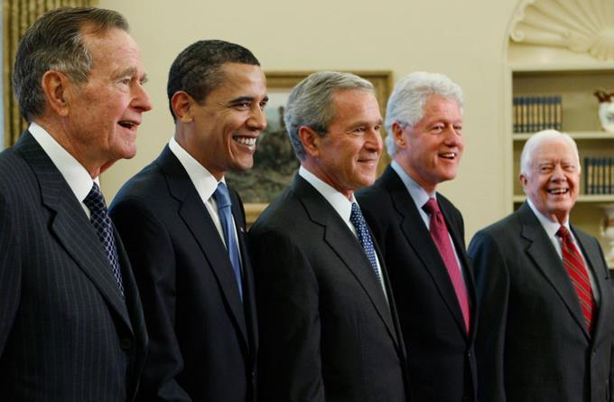 Cinco expresidentes EEUU en concierto para recaudar fondos para víctimas dehuracanes https://t.co/G8bzsDCYeA https://t.co/xxkQtrYoCg