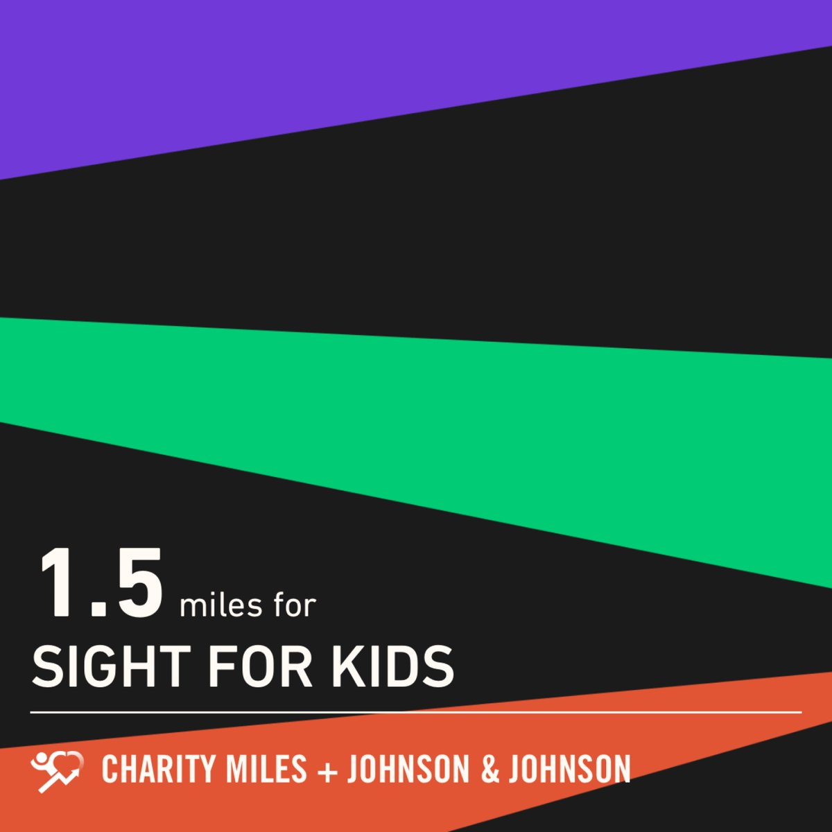 In solidarity with #GCFest, 1.5 @CharityMiles for #SightForKids. Thx2 #JNJ & #DonateAPhoto. https://t.co/JDOQ0Qjmon