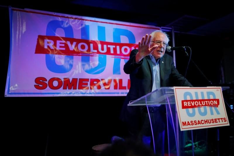 Bernie Sanders brings local politics focus to Massachusetts races