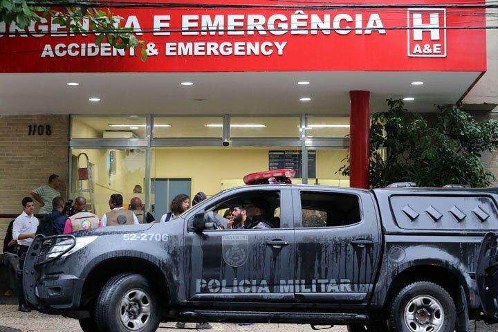 @BroadcastImagem: Espanhola morre após polícia disparar contra veículo de turistas na Rocinha. Wilton Júnior/Estadão