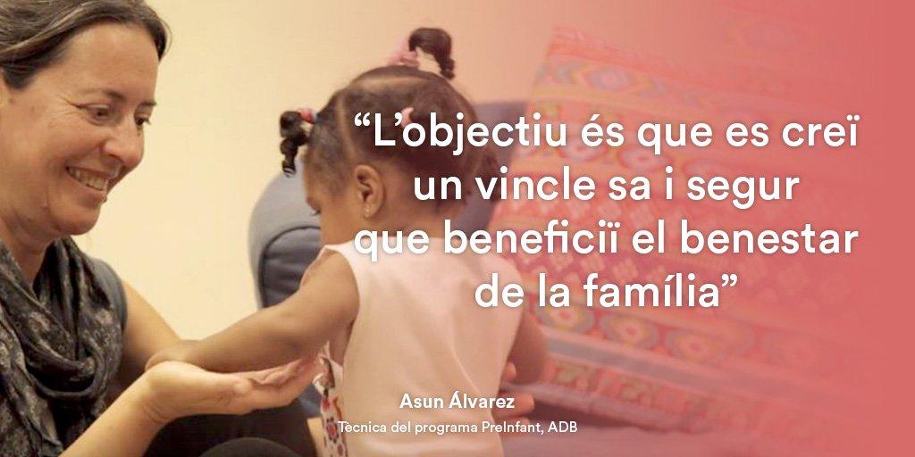 provar Twitter Mitjans - La importància del vincle familiar. Asun Álvarez, d'@abd_ong, treballa pel benestar afectiu entre pares i fills #HeroisAnònims https://t.co/ksS9CEDkZj