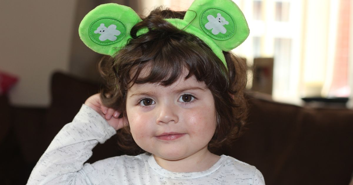 Two-year-old cancer survivor becomes fundraiser for hospital that saved her life