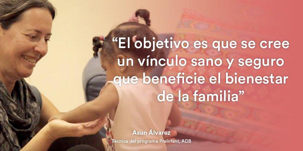 provar Twitter Mitjans - La importància del vincle familiar. Asun Álvarez, de @abd_ong, trabaja por el bienestar afectivo entre padres e hijos #HéroesAnónimos https://t.co/eXcgInolMh