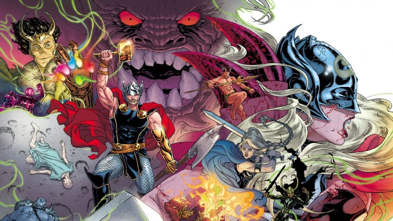 .@Marvel teases new look for its comic book Thor ahead of 'Ragnarok'