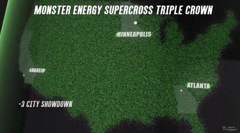 2018 #Supercross triple crown #SupercrossLIVE #tripleCrown #kingME #supercrossKING https://t.co/AcOKLaKF53