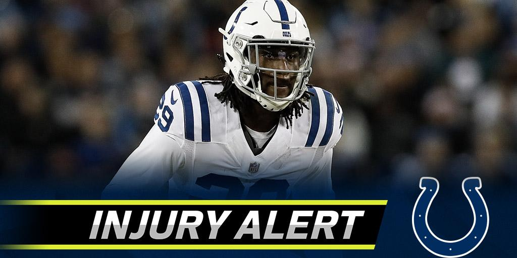 Colts rookie Malik Hooker suffered torn MCL, ACL: https://t.co/MlBaoBtEdD https://t.co/z4IoH0tm8w