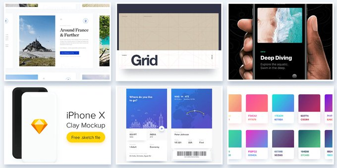 30 Beautiful Freebies Thatll Help You Create Better Projects by usemuzli - design dev