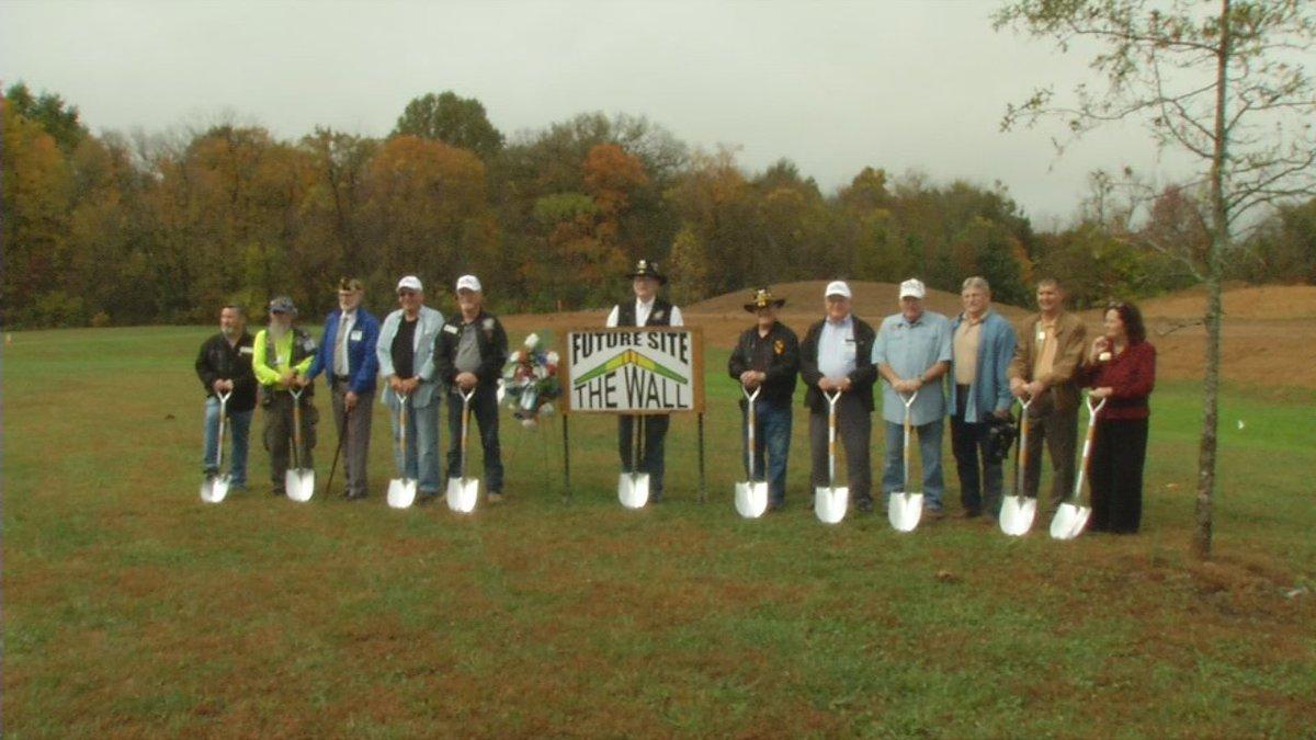 Elizabethtown breaks ground on permanent Vietnam Veterans Memorial