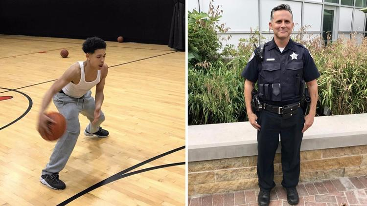 """Teen thanks Skokie cop who bought him gym membership instead of arresting him for trespassing: """"I used to think all cops were bad."""" https://t.co/6mCgYrYh0E https://t.co/7VKt51tjUl"""