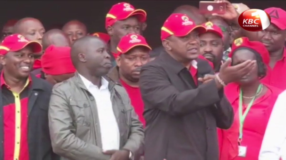 Jubilee campaigns in Bungoma, Vihiga and Nandi counties