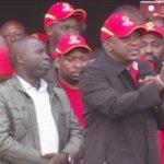 Jubilee campaigns in Bungoma, Vihiga and Nandi counties