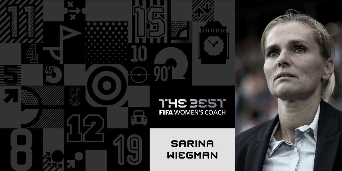 RT @FIFAWWC: Congratulations, 🇳🇱Sarina Wiegman! 👏 Winner of the #TheBest FIFA Women's Coach 2017 🏆 https://t.co/Kjv3gK5ugF