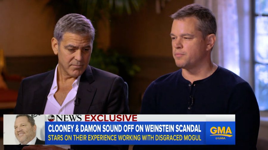 "Matt Damon says he knew Harvey Weinstein was a ""womanizer,"" not a predator"
