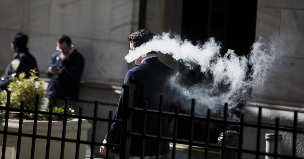 New York Bans Vaping Anywhere Cigarettes Are Prohibited
