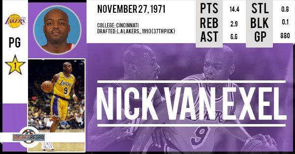 Happy birthday Nick Van Exel