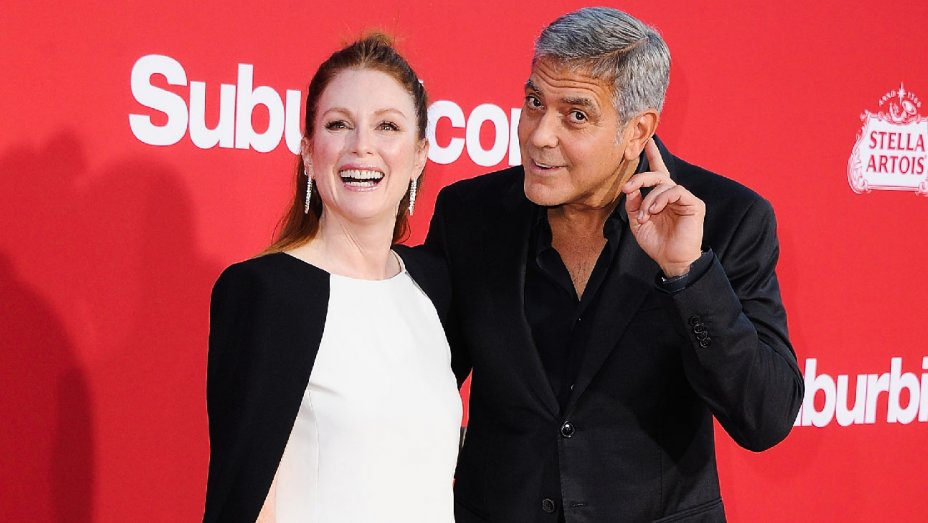 "Suburbicon premiere: Stars praise George Clooney as ""actor's director"""