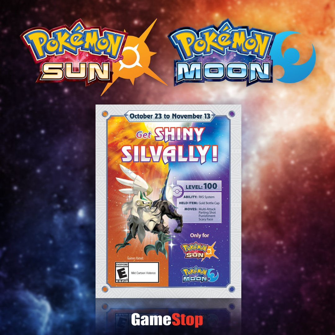 Are you the partner Shiny Silvally will trust? Redeem the exclusive code card to add it to your squad https://t.co/YCZhmTsfeQ