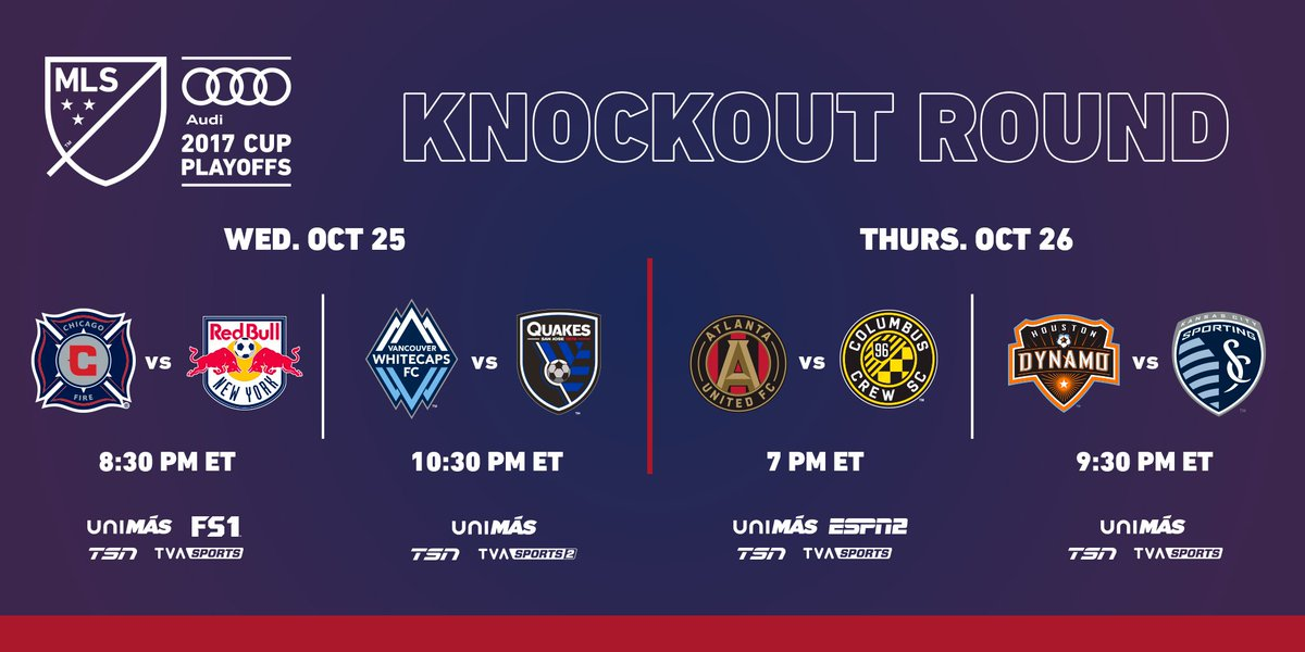 An @Audi #MLSCupPlayoffs Knockout Round primer: https://t.co/0Eo8KWEOUG https://t.co/j5zpEu5CGa