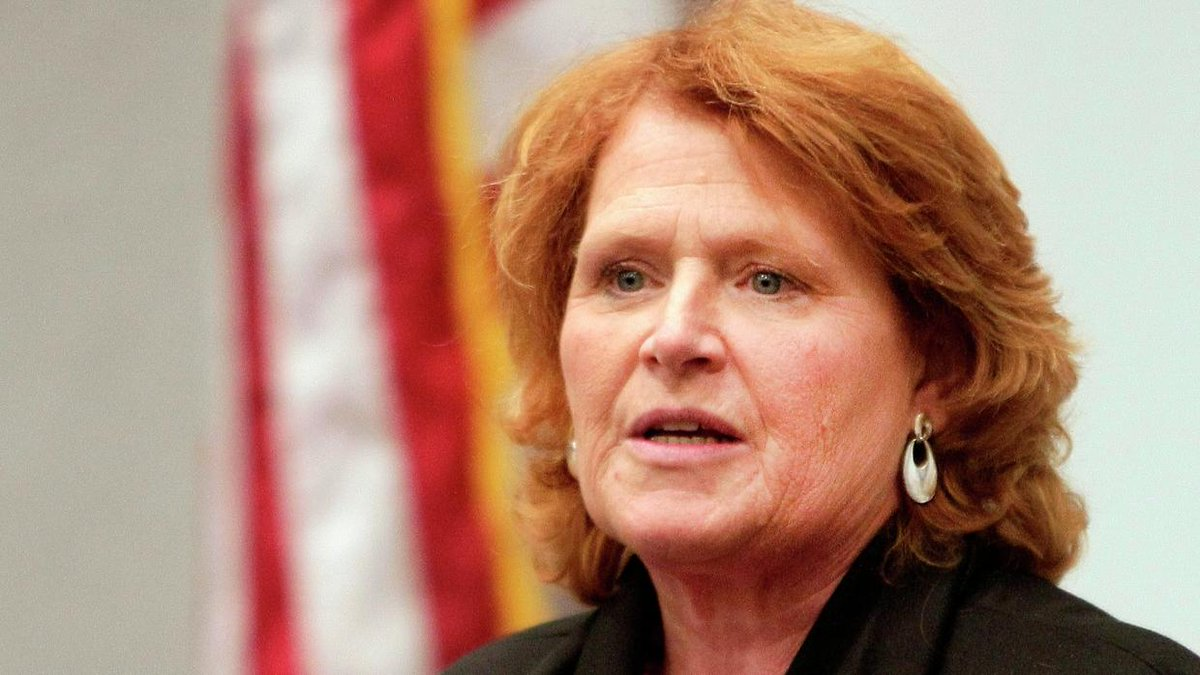 Joining 3 colleagues, Sen. Heidi Heitkamp shares #MeToo story on Meet the Press https://t.co/L2ie2uWjXl https://t.co/I5SEyOF0xK