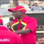 President Uhuru Kenyatta accuse Raila of putting his interests first