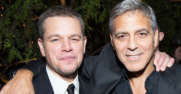 "Matt Damon thinks that George Clooney might have finally ""grown up."""