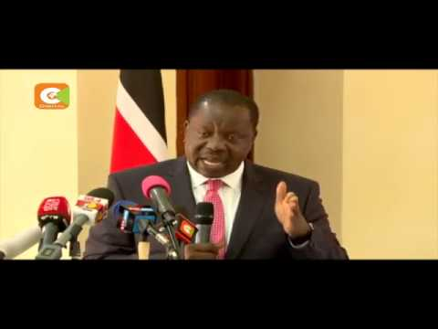 CS Matiang'i holds meeting with security officers