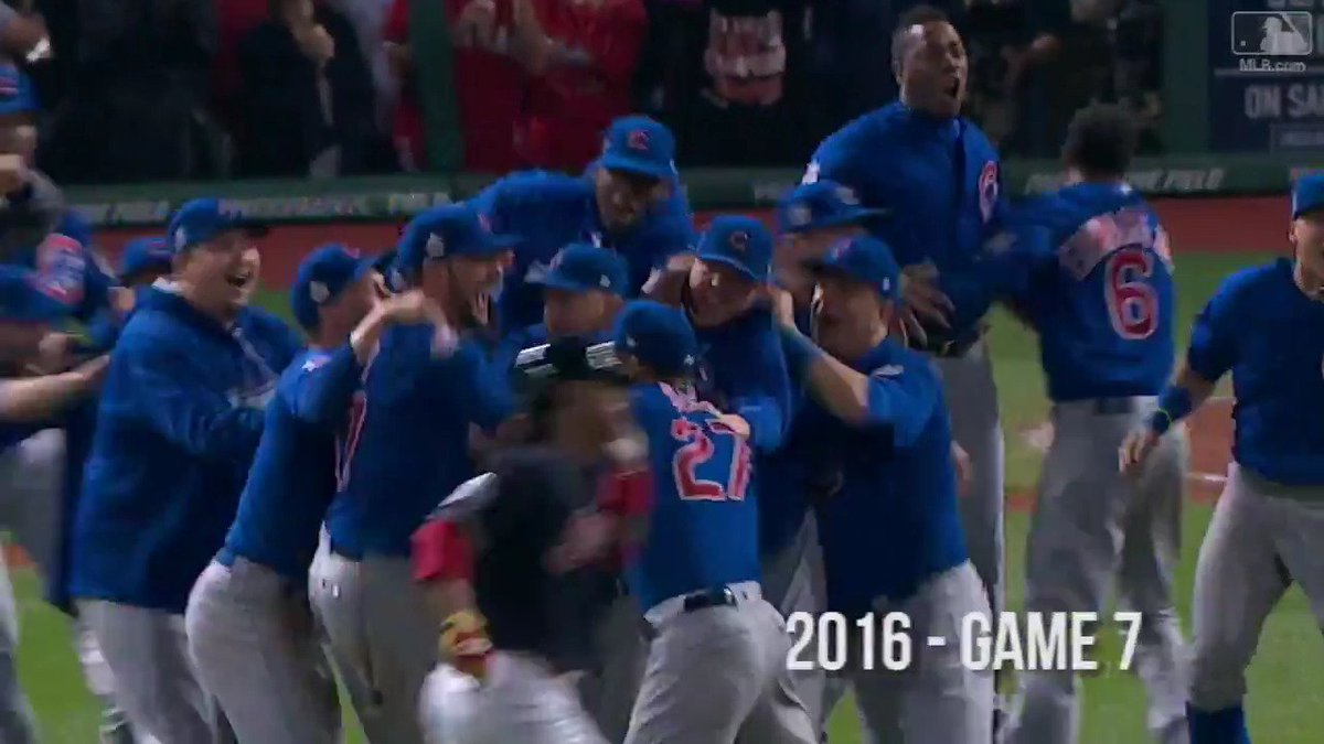 Who makes history this year? #WorldSeries https://t.co/1O9EMLuWd9