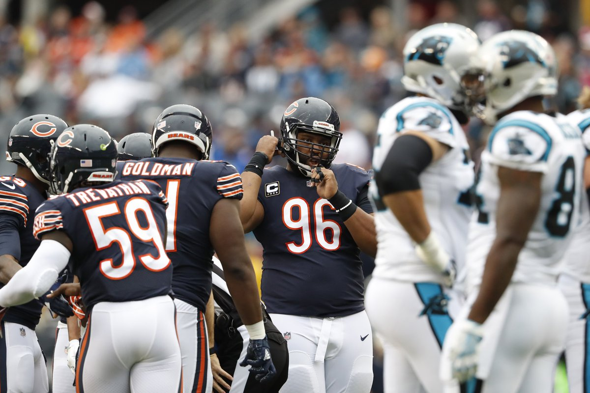 Film session: Dominant defensive line allowed Bears to be extra conservative in victory, @BradBiggs writes https://t.co/BdNlUPDSbe https://t.co/LzaviTXSKH