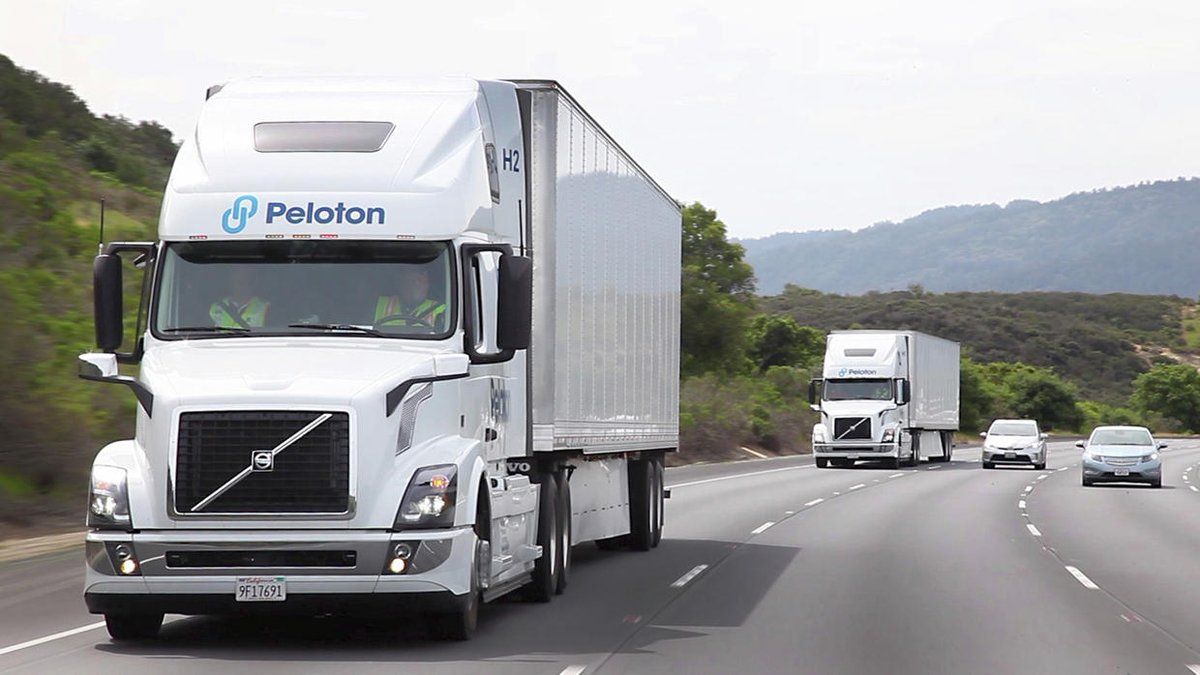 Are these 80,000 pound trucks tailgating each other? Soon it may be perfectly normal — and safe https://t.co/BZrzaTnGgH https://t.co/CFi9emErTO