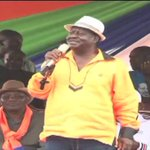 Raila Odinga maintains there will be no election on October 26th