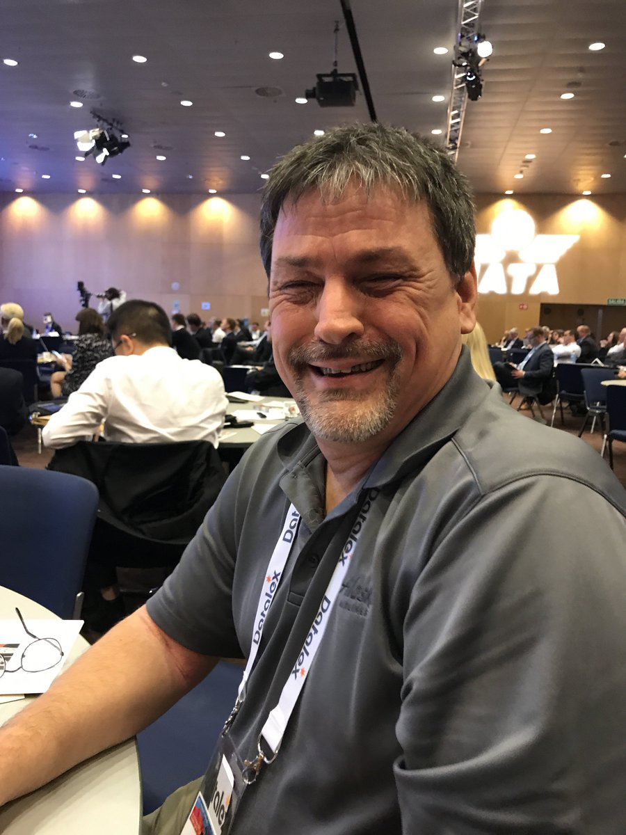 #IATAWPS want to know about EBT, Automation, RFID, XML, 753? Meet Rick Nagy the chair of the Baggage Working Group. https://t.co/P4XDMdhZ6t