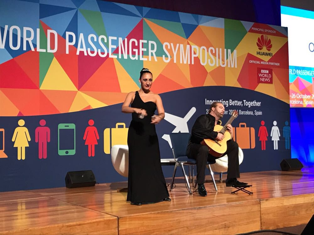 #IATAWPS opens with traditional guitar and Flamenco performance https://t.co/TYvC3QxffY https://t.co/EWi9KprIMH