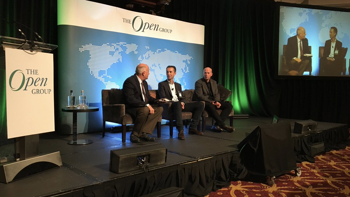 #ogAMS @stevenunn taking questions with Wim Scholtes and Lourens Riemens at @TheOpenGroup Amsterdam 2017 event https://t.co/Brl7hu4JNY