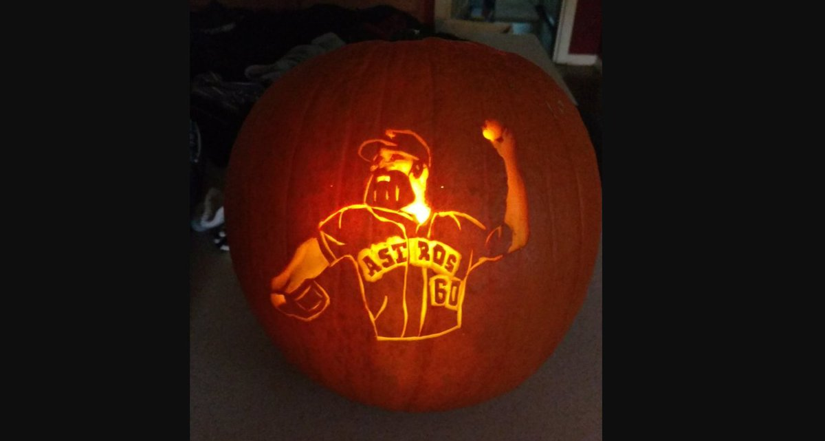 This Houston Astros pumpkin is terrifying — if you play for the New York Yankees https://t.co/unIuuJE9nA https://t.co/WchHqw0eNQ