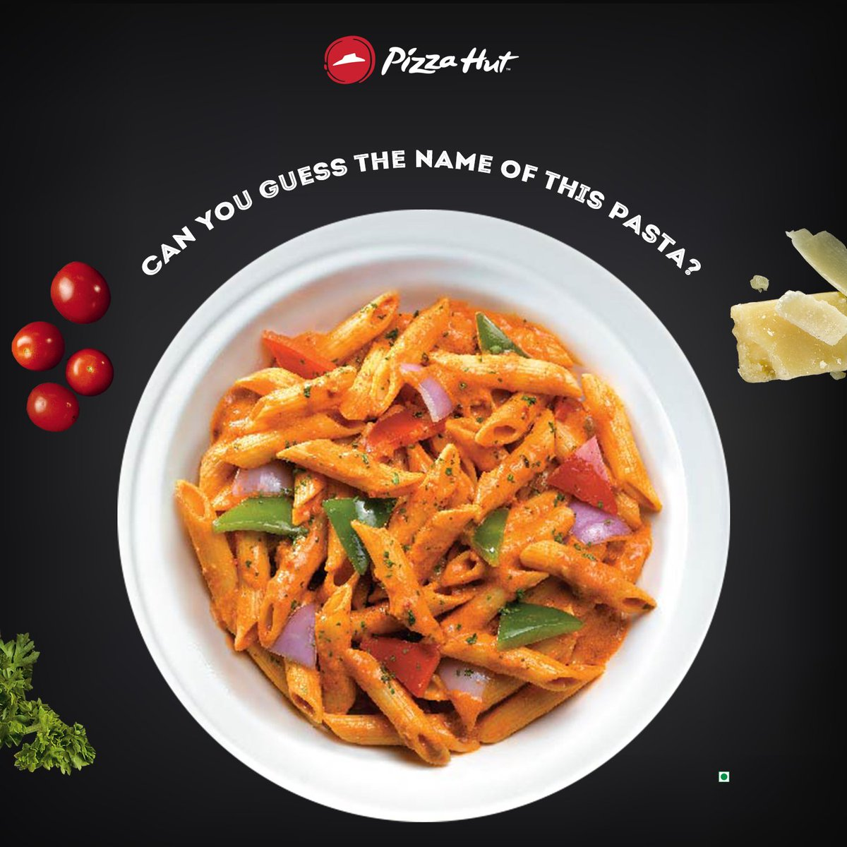 Can you guess the name of this pasta PizzaHutTrivia https t.co HV0efNkBm8
