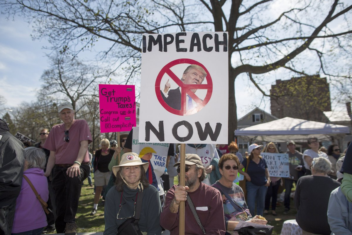 At least a dozen local governments have passed resolutions to impeach President Donald Trump