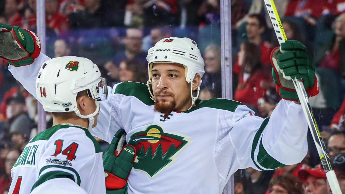 Here's something we haven't seen from Wild winger Chris Stewart: goals, not fights https://t.co/LGmMrt7g7e https://t.co/dShMKYIRgu